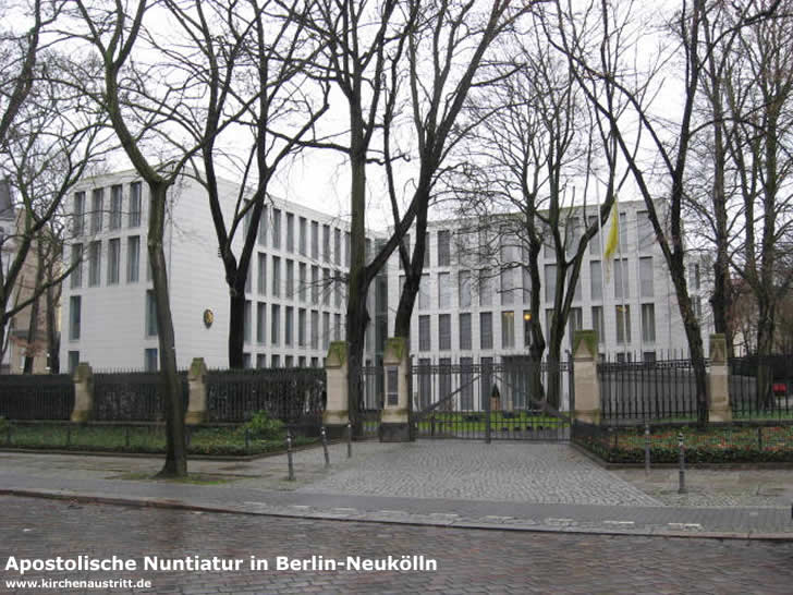 Apostolische Nuntiatur in Berlin-Neukölln