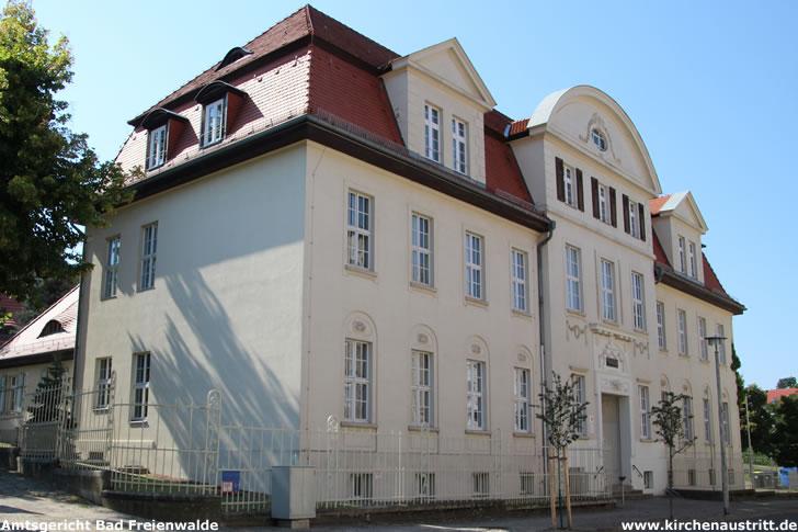 Amtsgericht Bad Freienwalde