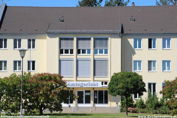 Amtsgericht Eisenhüttenstadt