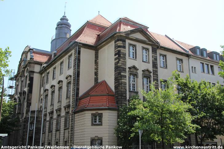 Amtsgericht Pankow/Weißensee - Dienstgebäude Pankow