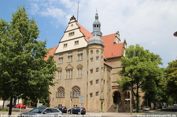 Amtsgericht Pankow/Weißensee - Dienstgebäude Weißensee